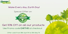 Earth Day, which falls on April 22 every year, is a kind reminder for you make a life-style choice - to be eco-conscious and green your life.